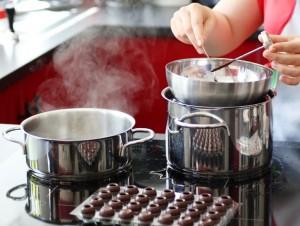 Schokolade selber tempeieren